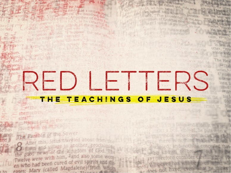 Red Letters Religious PowerPoint
