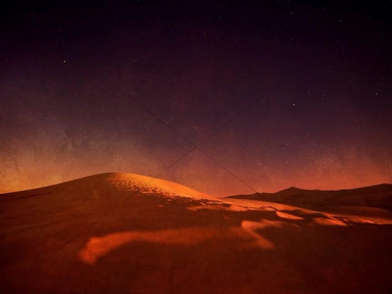 Desert Glow Christian Wallpaper