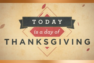 Today Is Thanksgiving Day Mini Movie Sermon Video