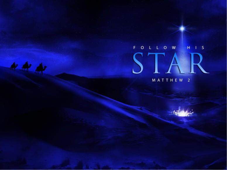 Follow His Star Christian PowerPoint