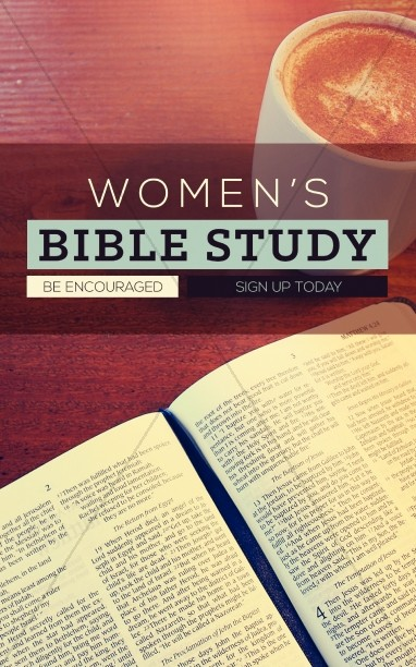 Women's Bible Study Christian Bulletin