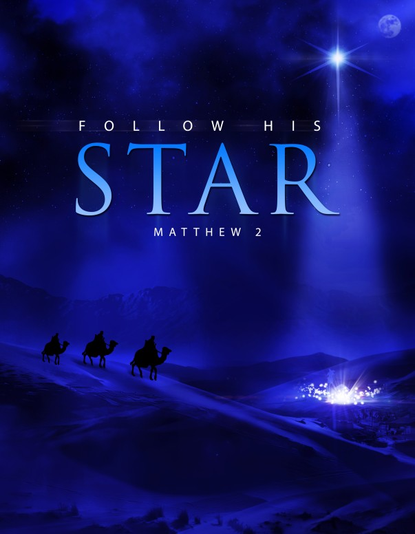Follow His Star Christian Flyer