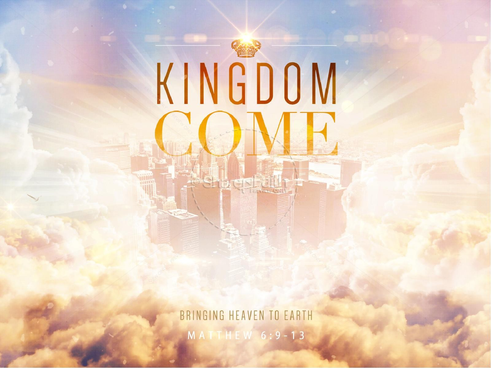 Kingdom Come Ministry PowerPoint | slide 1