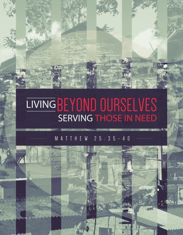 Living Beyond Ourselves Church Flyer