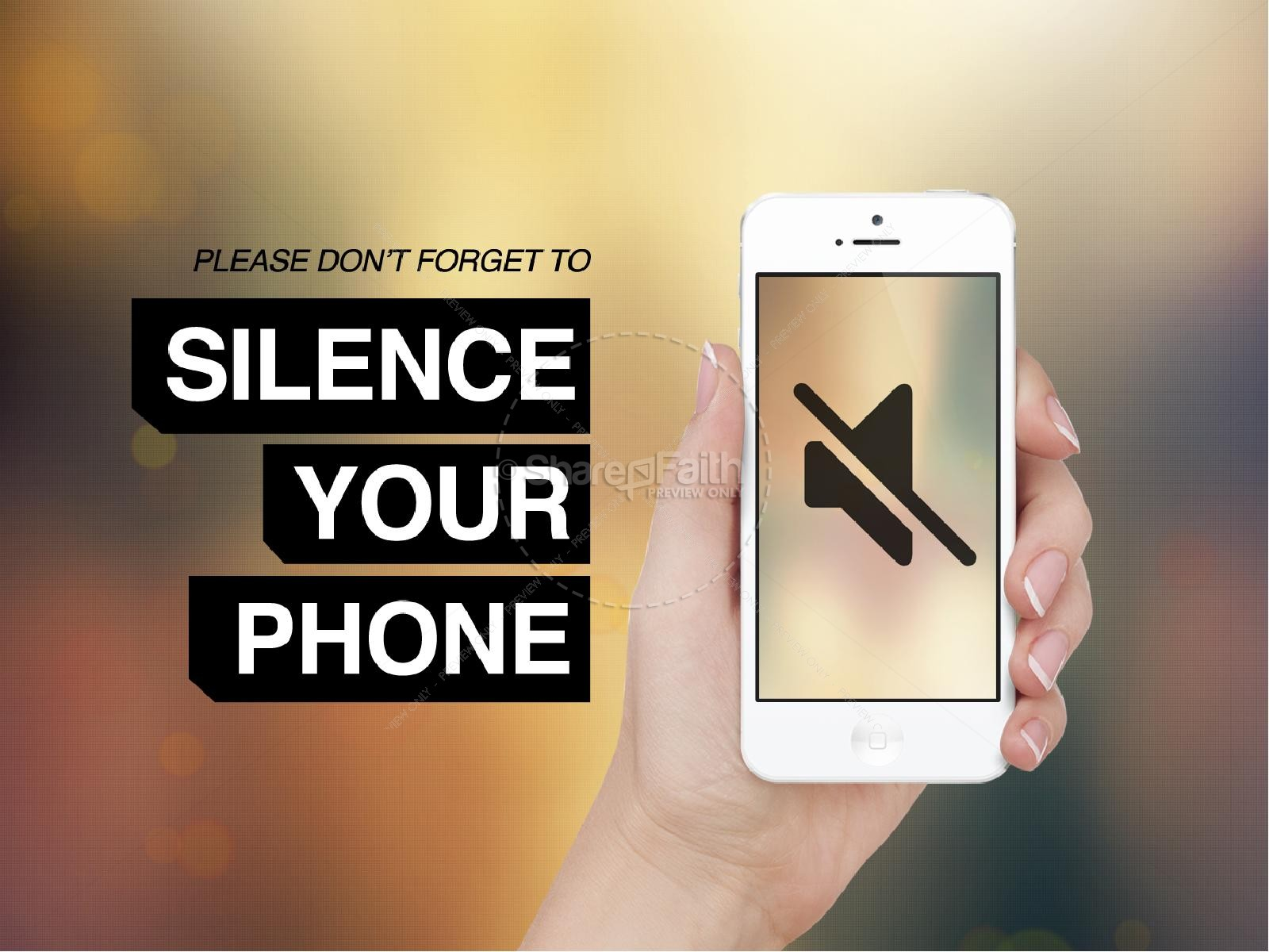 Silence Your Phone Ministry Powerpoint Powerpoint Sermons