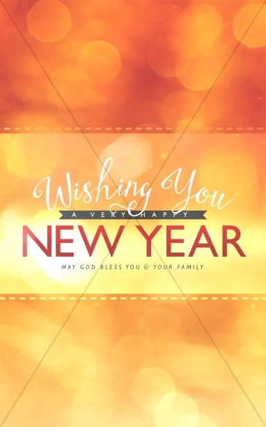 Wishing a Happy New Year Ministry Bulletin