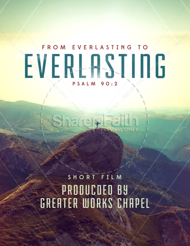 From Everlasting to Everlasting Church Flyer