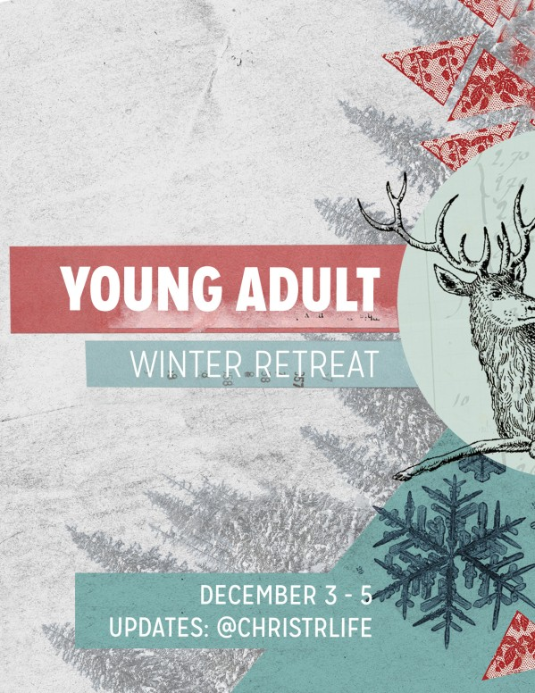 Winter Retreat Christian Flyer