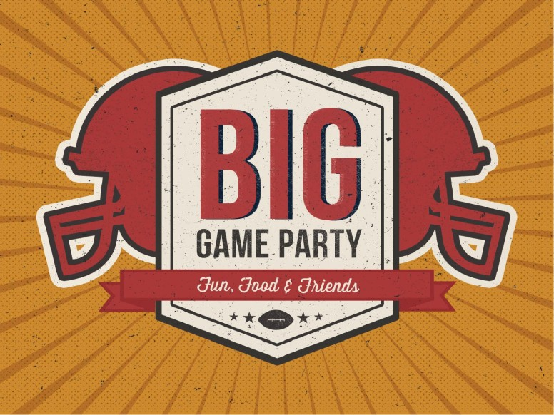 Big Game Party Ministry PowerPoint
