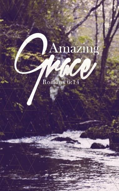 Amazing Grace Christian Bulletin