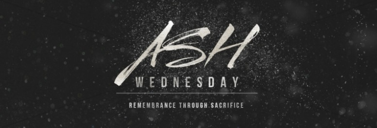 Ash Wednesday Remembrance Ministry Web Banner