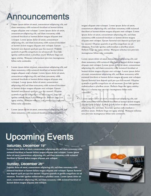 Winter Retreat Christian Newsletter