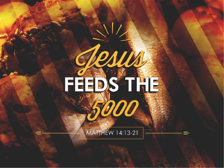 Jesus Feeds Five Thousand Church PowerPoint
