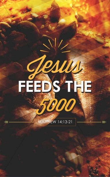 Jesus Feeds Five Thousand Church Bulletin