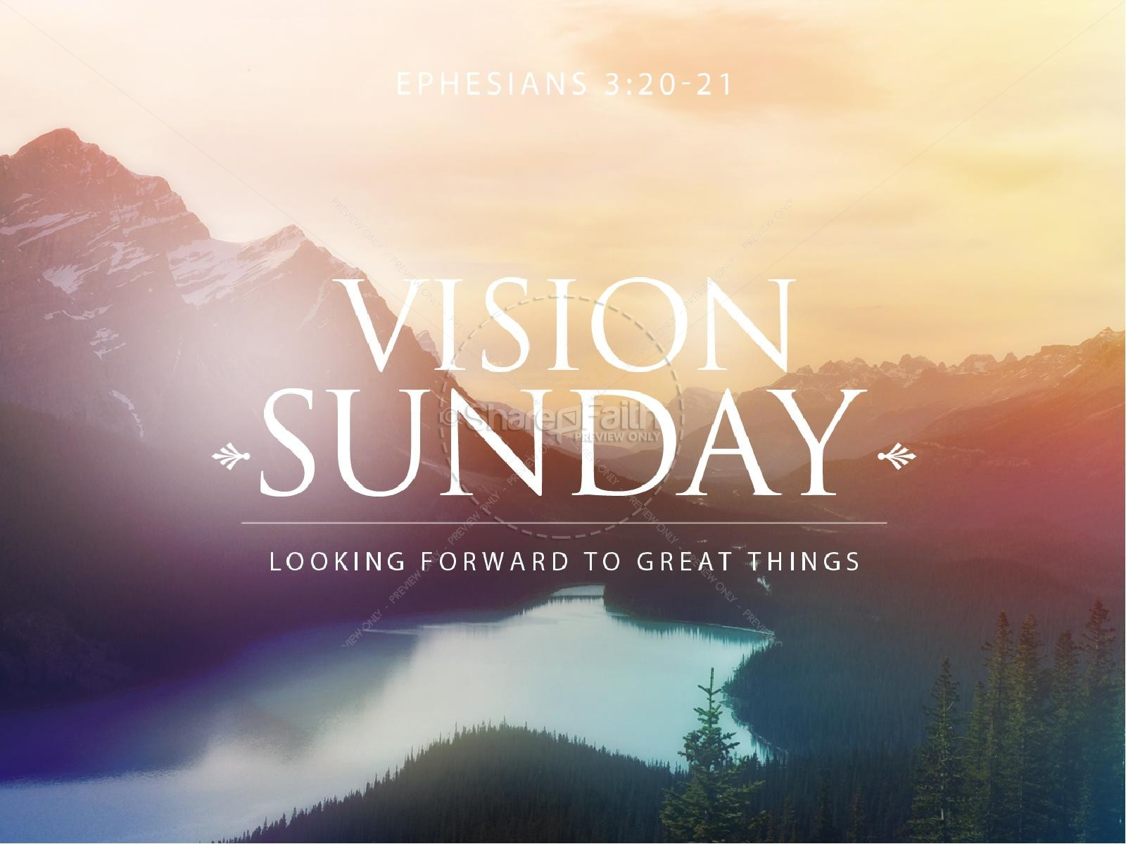 Vision Sunday Christian PowerPoint