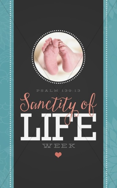 Sanctity of Life Week Christian Bulletin