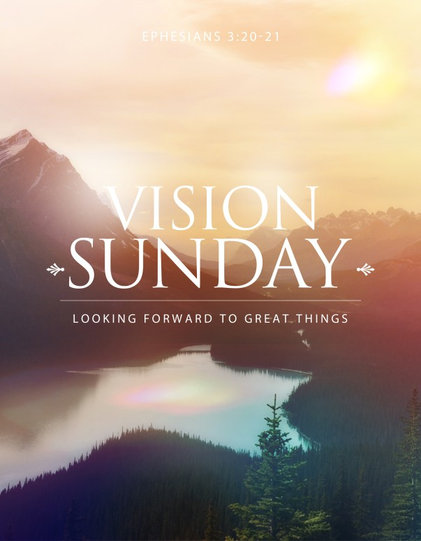 Vision Sunday Christian Flyer