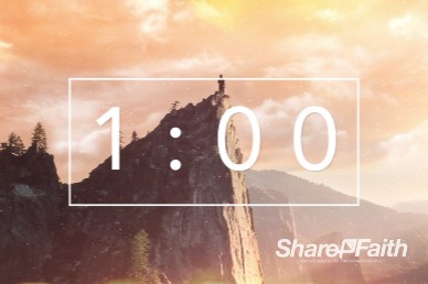 Confident Christian Ministry One Minute Timer