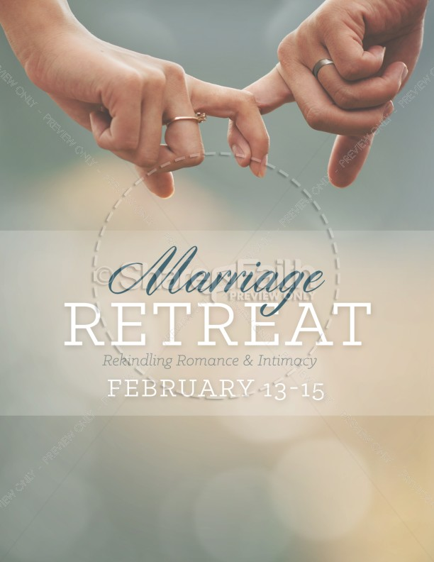 marriage retreat ministry flyer template flyer templates