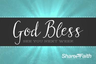 Sanctity of Life Week Christian Goodbye Background Video