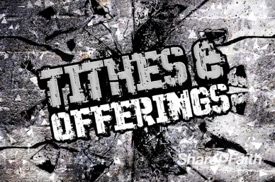 Stand Firm Christian Tithes and Offerings Motion Video