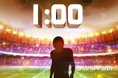 Super Sunday Ministry One Minute Countdown Timer
