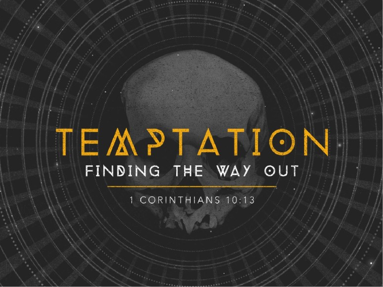 Temptation Finding the Way Out Ministry PowerPoint