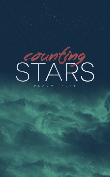 Counting Stars Christian Bulletin