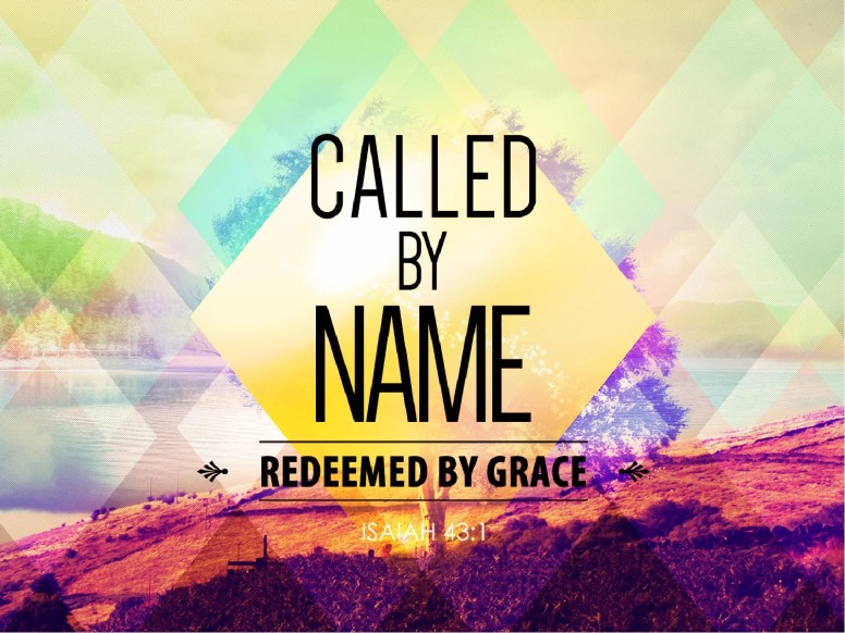 Called by Name Church PowerPoint