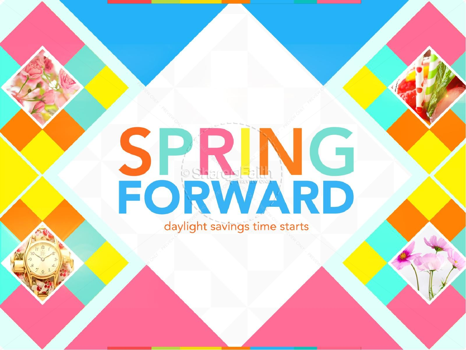 Spring Forward Church PowerPoint