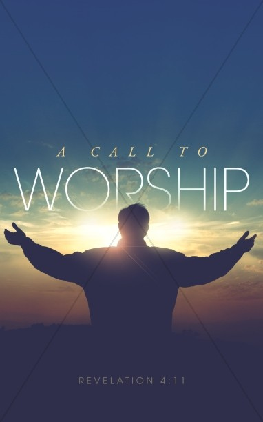 A Call to Worship Christian Bulletin