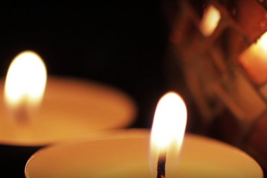 Burning Candle Series Christian Motion Video Loop