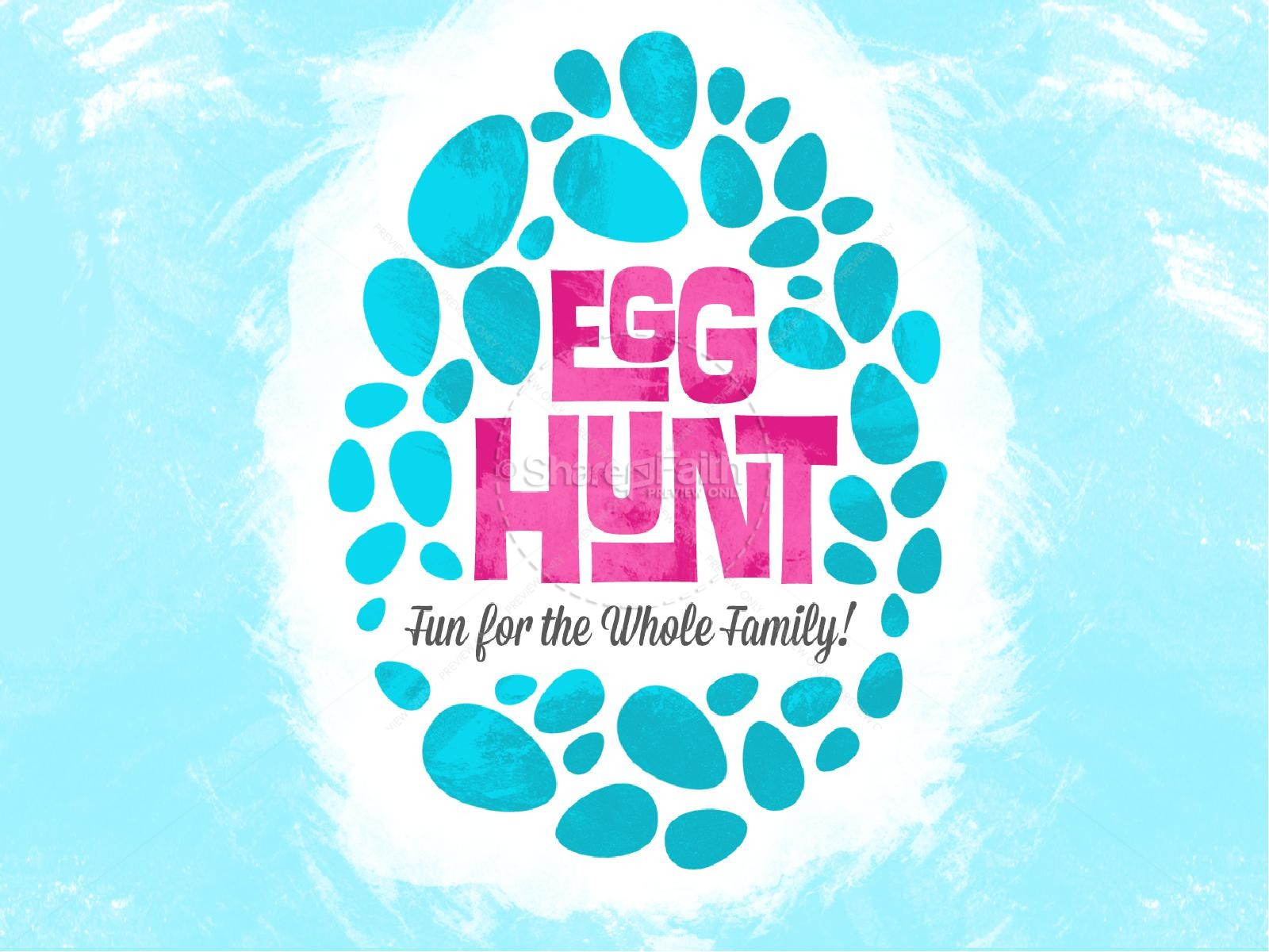 Egg Hunt Christian PowerPoint
