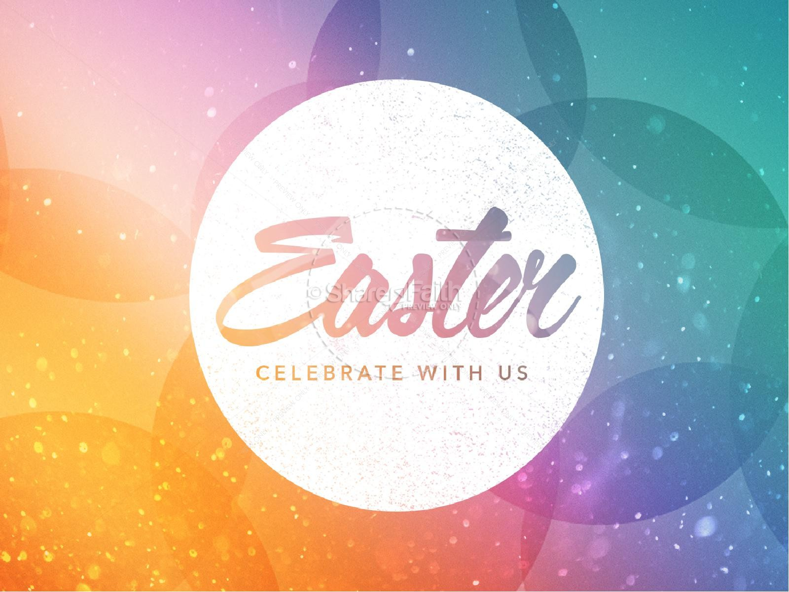 Easter Celebrate With Us Easter PowerPoint | slide 1