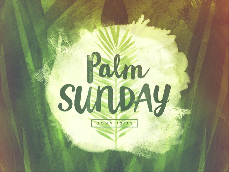 Palm Sunday Religious PowerPoint