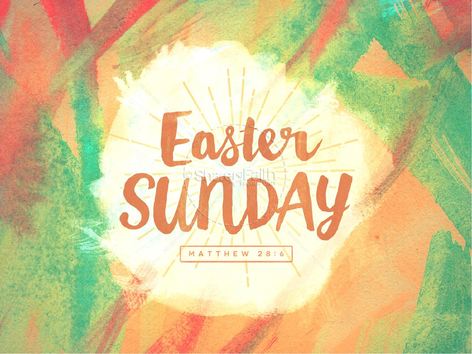 Easter Sunday Ministry PowerPoint