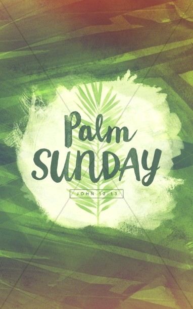 Palm Sunday Religious Bulletin
