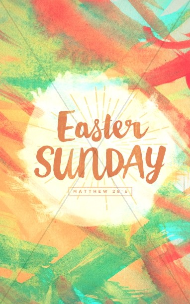 Easter Sunday Ministry Bulletin