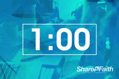 Life Groups Christian One Minute Countdown Timer