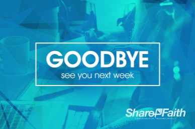 Life Groups Christian Goodbye Video