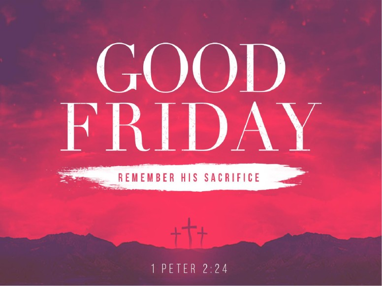 Good Friday Healed Christian PowerPoint