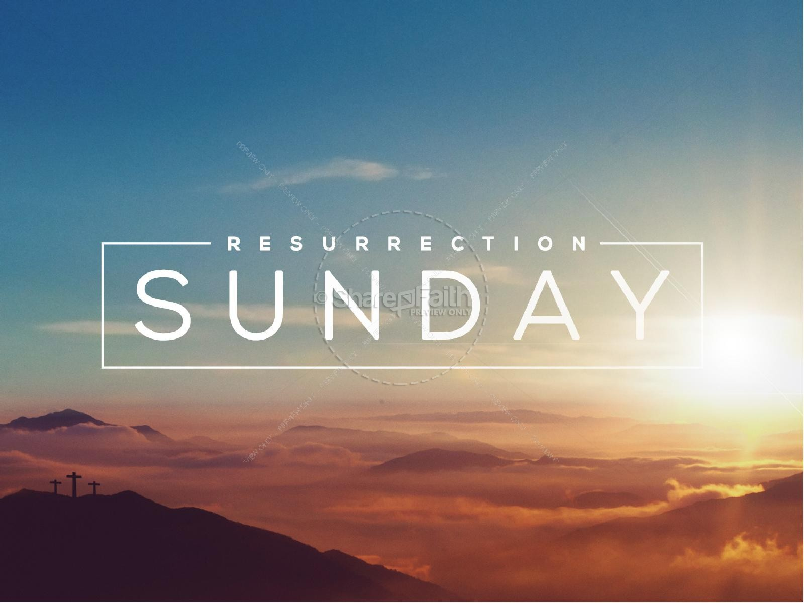 Resurrection Sunday Religious PowerPoint