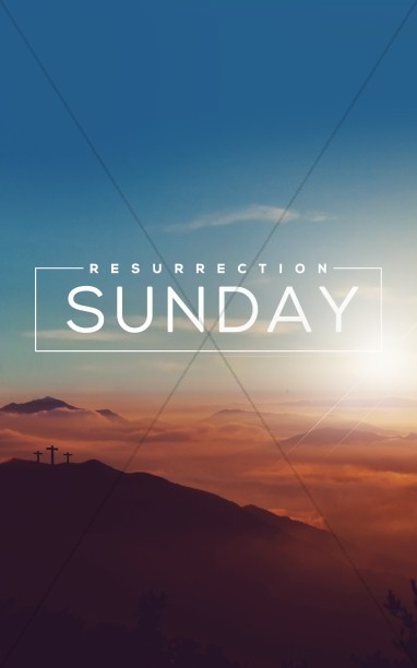 Resurrection Sunday Religious Bulletin