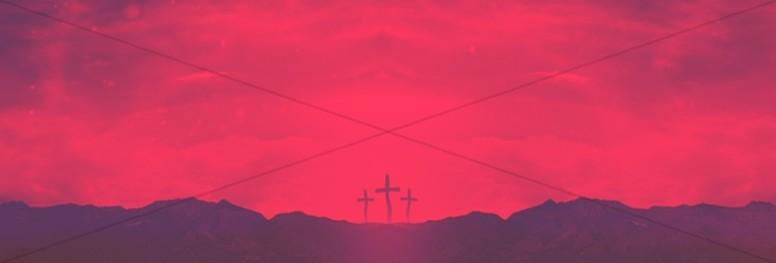 Good Friday Healed Christian Web Banner