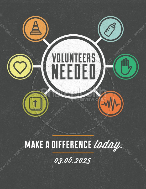 Make a Difference Ministry Flyer