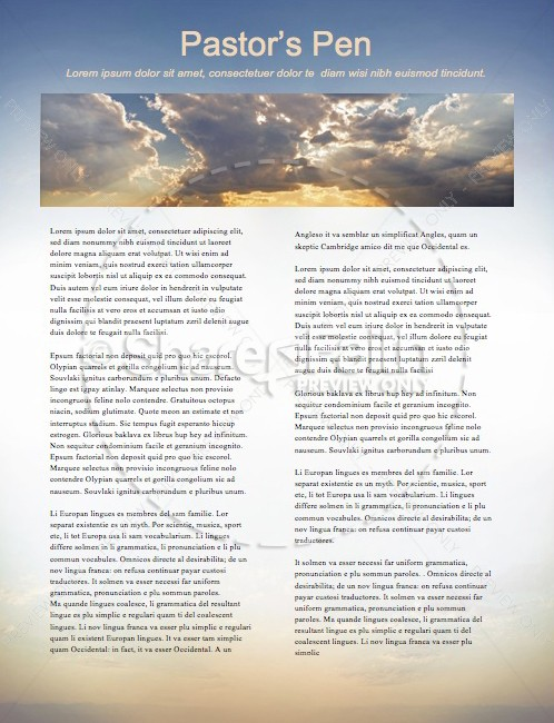A Call to Worship Christian Newsletter