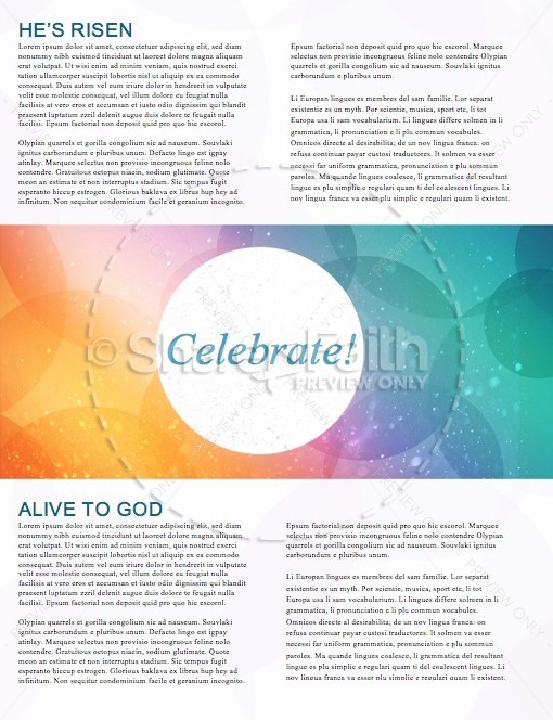 Colors and Particles Church Newsletter