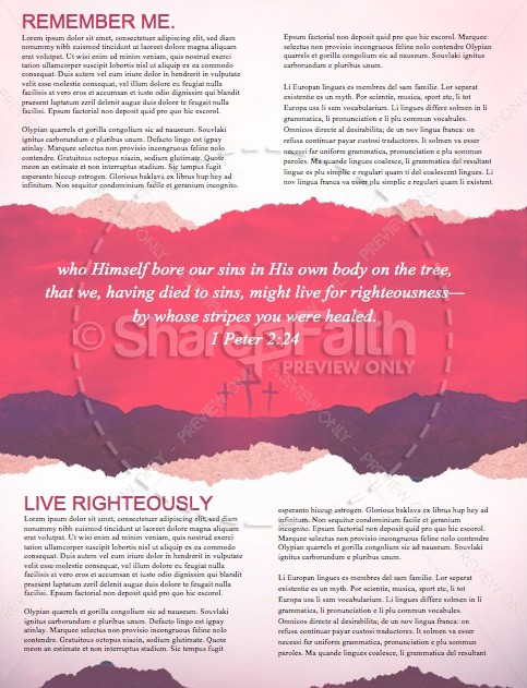 Good Friday Healed Christian Newsletter