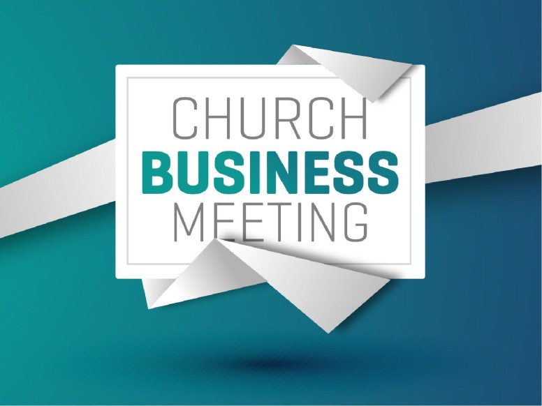Church Business Meeting Christian PowerPoint