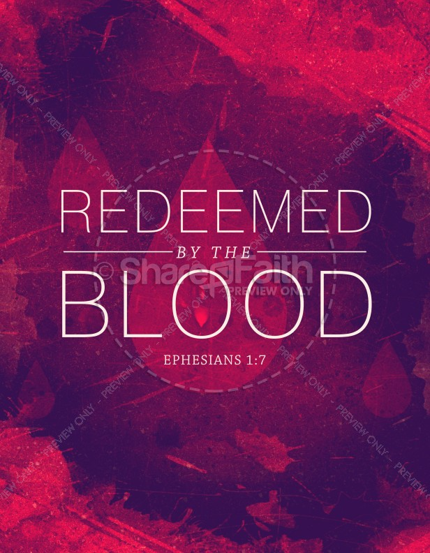 Redeemed by the Blood Religious